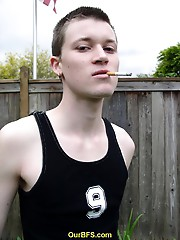 Smoking hot twink